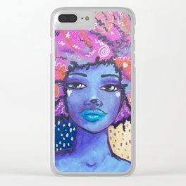 Imagine Girl Clear iPhone Case