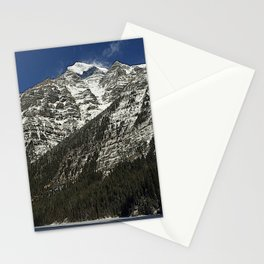 Robson: from Lake to Mountain Top Stationery Cards