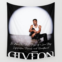 GIVEON TAKE TIME Wall Tapestry