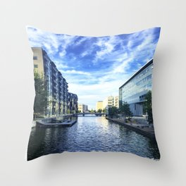 Reflection on Reflection Throw Pillow