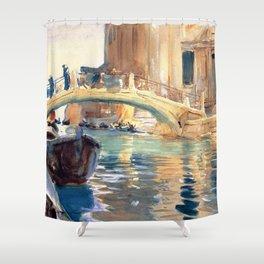 John Singer Sargent San Giuseppe Di Castello Venice Shower Curtain
