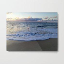 foamy shore Metal Print