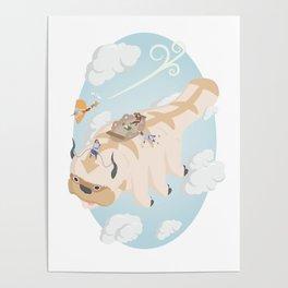 Avatar: The Last Airbender Isometric Artwork Poster