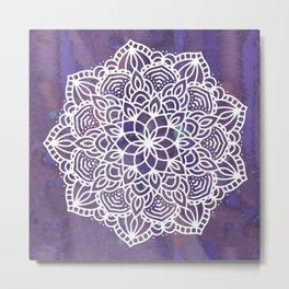 Ultraviolet Mandala #buyart #ultraviolet #mandala #society6 Metal Print
