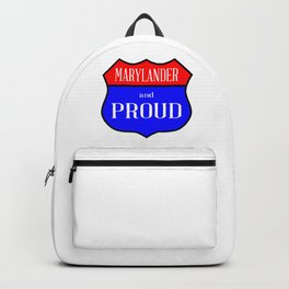 Marylander And Proud Backpack