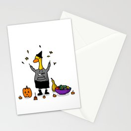 October Duck Stationery Cards