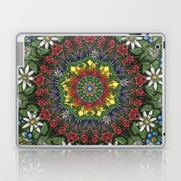 Garden Burst Laptop & iPad Skin