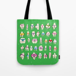 UNDERPANTS Green Tote Bag