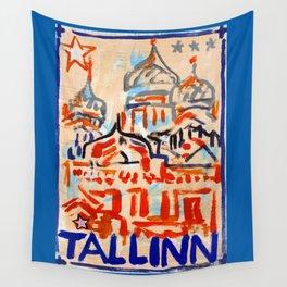 European Capital - Tallinn Wall Tapestry