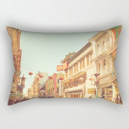 Chinatown, San Francisco, ca Rectangular Pillow