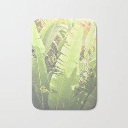 Tropical Banana - Green Bath Mat