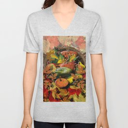 Horns of Plenty Unisex V-Neck