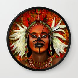 Wodabbi Groom Wall Clock