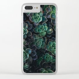 The Succulent Green Clear iPhone Case