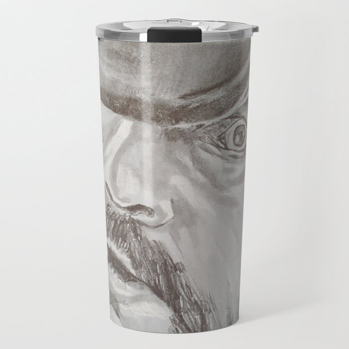 Lemmy Kilmister Travel Mug