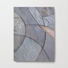 Curving Metal Print
