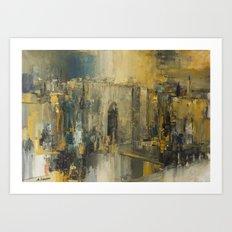 Jerusalem Gate Art Print
