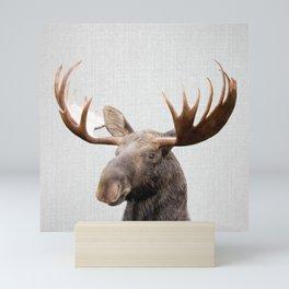 Moose - Colorful Mini Art Print