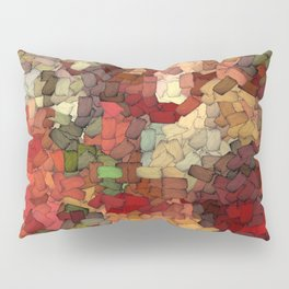 Autumn Inspired Torn Scraps 2492 Pillow Sham