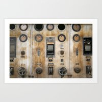 nemo Art Prints featuring Captain Nemo by InogitnaDesigns