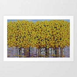 Hello Autumn 2 Art Print