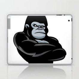 angry  gorilla.black gorilla Laptop & iPad Skin