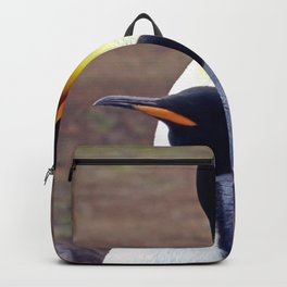 Male and Female King Penguins Backpack