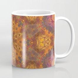 mandala 3 orange #mandala #orange Coffee Mug