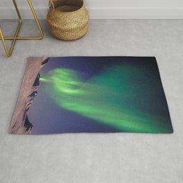 The Northern Lights (Aurora Borealis) Rug