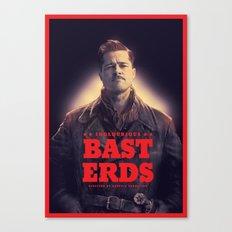 Inglourious Basterds Poster Canvas Print