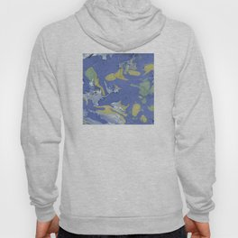 Ocean Abstract Hoody