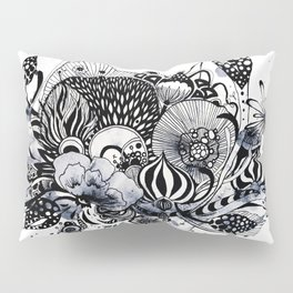 Muted Menagerie Pillow Sham