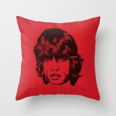M. J. 01 Throw Pillow