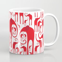 Elephant Herd 2 Coffee Mug