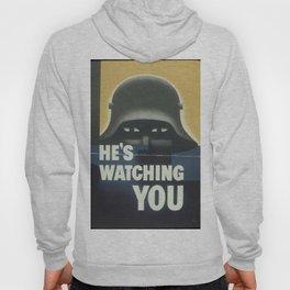 World War Two Propaganda Poster Hoody