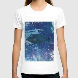Cosmic fish, ocean, sea, under the water T-shirt