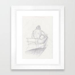 Figure Study (2) Framed Art Print