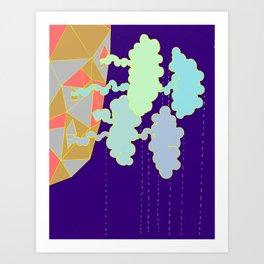 Cloud Factory II Art Print