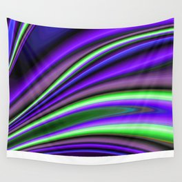 Abstract Fractal Colorways 01PL Wall Tapestry