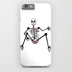 Black Skeleton  Female iPhone 6s Slim Case