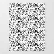 Oh Cats Canvas Print