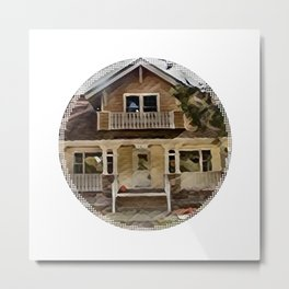 Sears craftsman home Metal Print