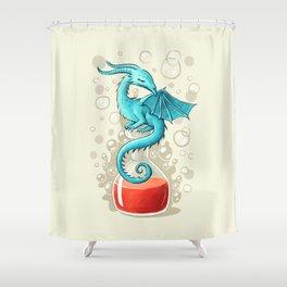 Dragon Potion Shower Curtain