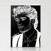 zayn Stationery Cards featuring Zayn by andjustlove
