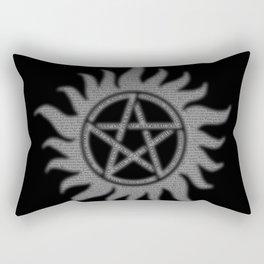 Carry On Supernatural Pentacle Rectangular Pillow