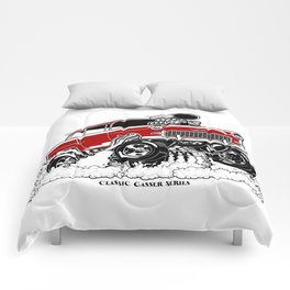 55 Gasser Series REV-2 RED Comforters