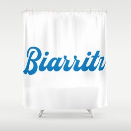 BIARRITZ Shower Curtain