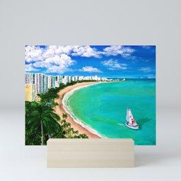 Isla Verde, San Juan, Carolina, Puerto Rico Mini Art Print