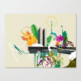Disorder in Progress Canvas Print