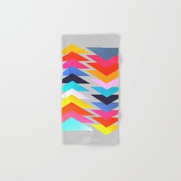 Multicolored triangles Hand & Bath Towel
